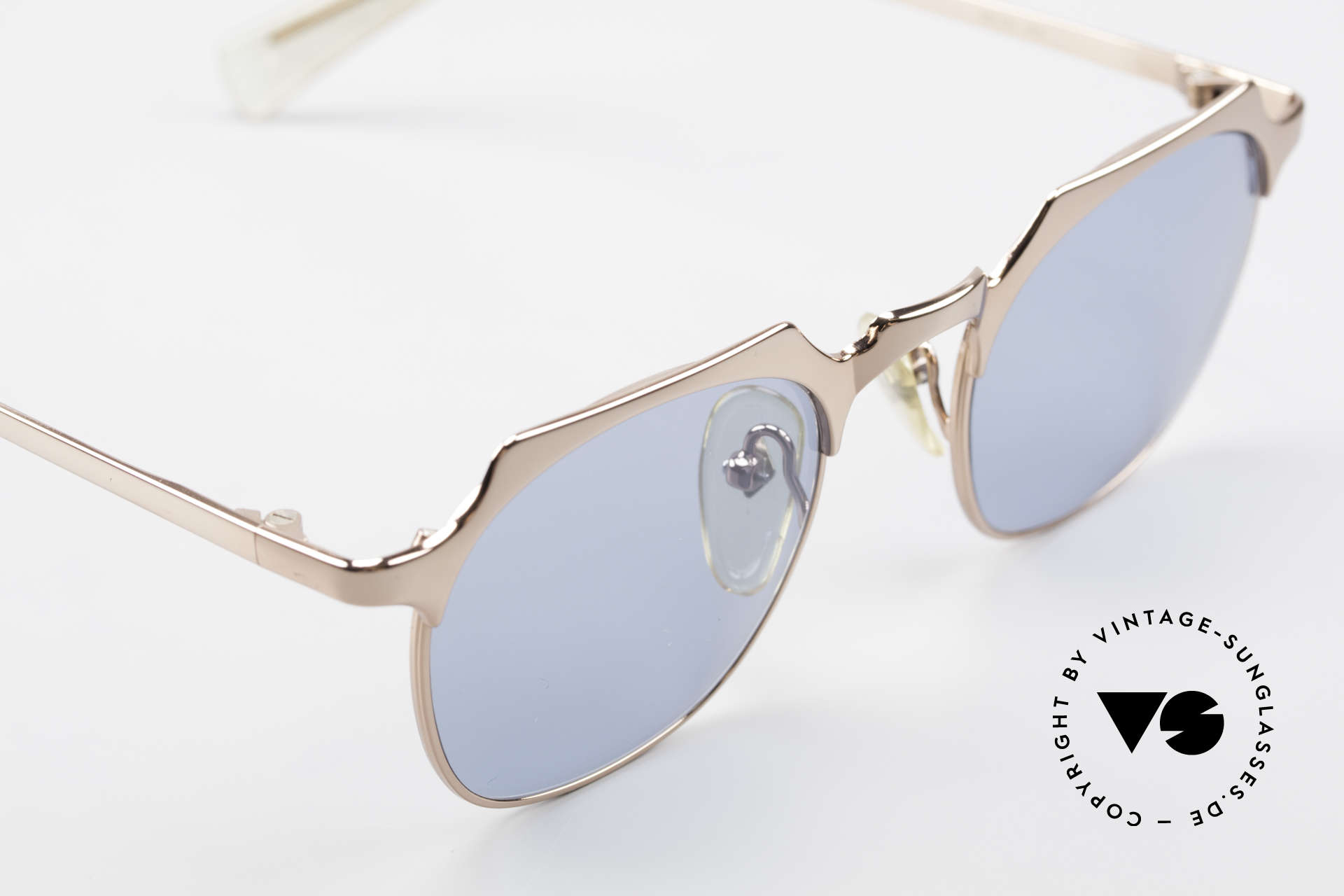 Jean Paul Gaultier 57-0171 Panto Designer Sonnenbrille, KEINE Retromode; ein ca. 25 Jahre altes Original!, Passend für Herren und Damen