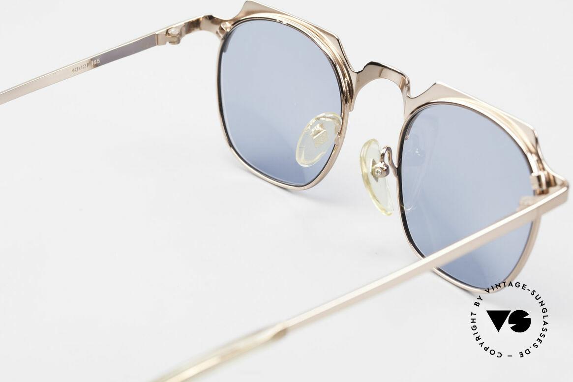 Jean Paul Gaultier 57-0171 Panto Designer Sonnenbrille, Größe: medium, Passend für Herren und Damen