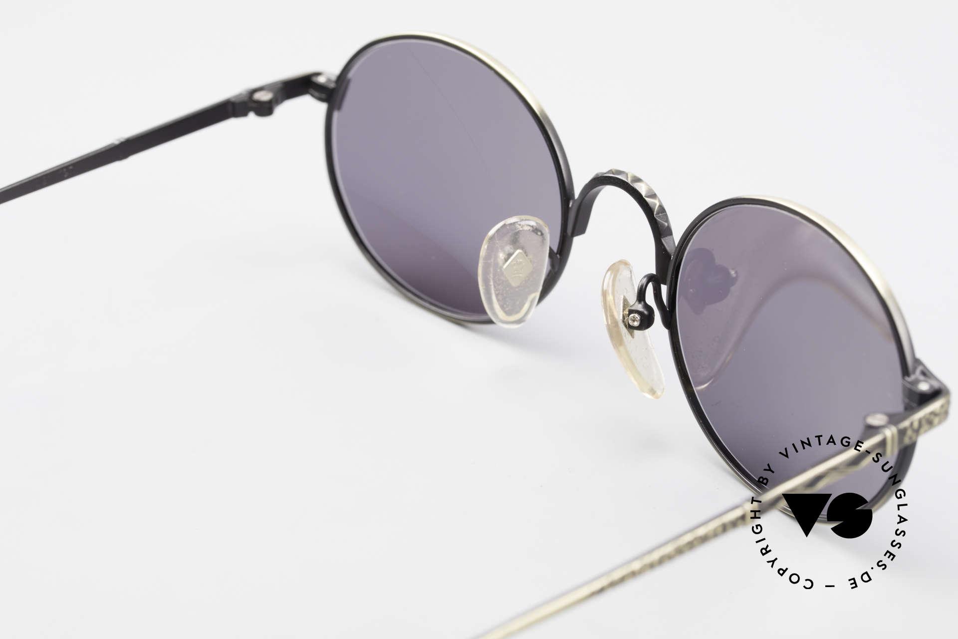 Jean Paul Gaultier 55-9672 Ovale 90er JPG Sonnenbrille, Größe: medium, Passend für Herren und Damen