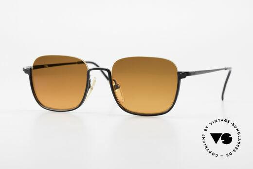 Jean Paul Gaultier 55-7161 Eckige Vintage Sonnenbrille Details