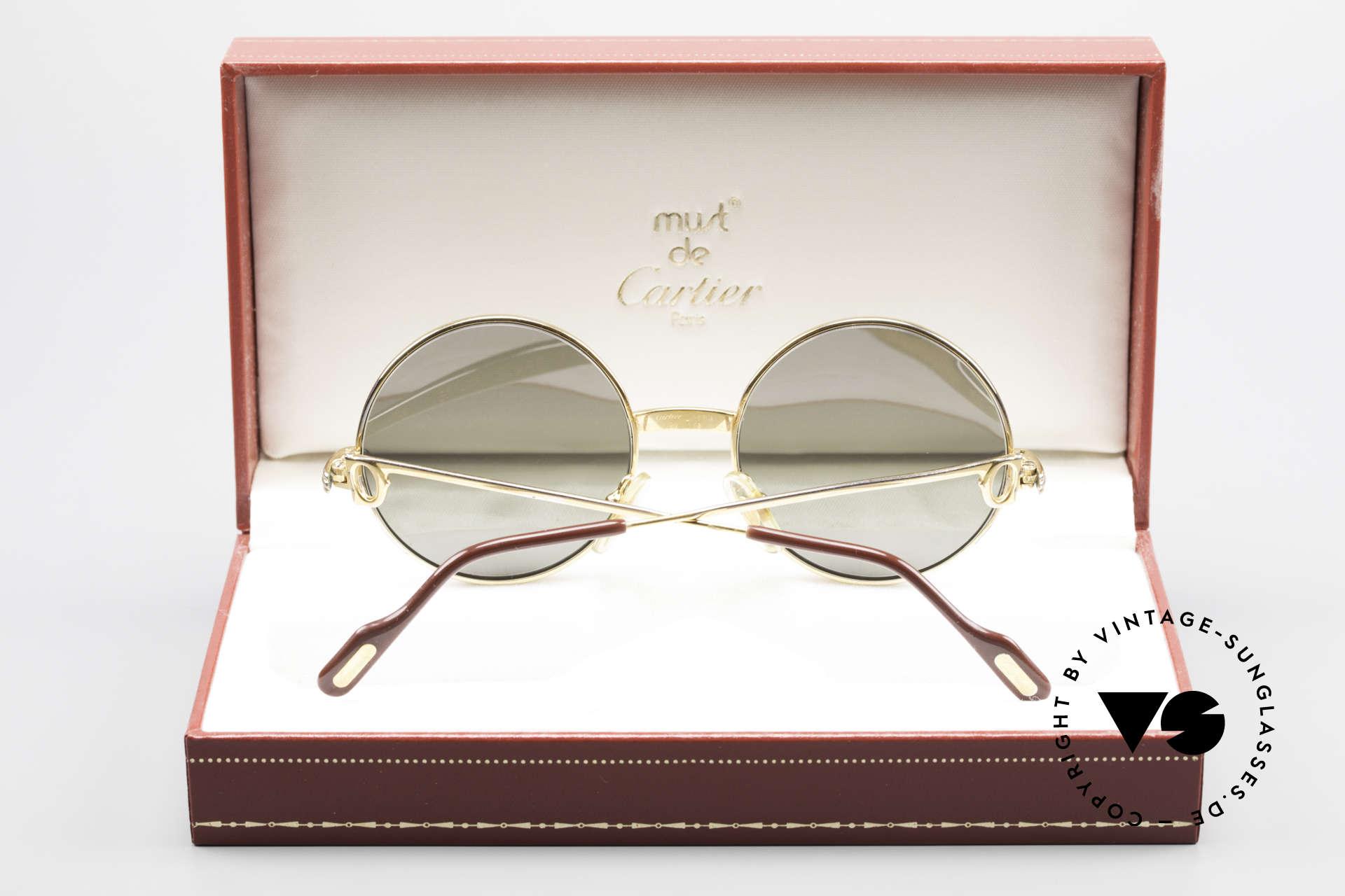 Cartier Round Customized Kundenindividuelle Fertigung, Preis auf Anfrage; eigentlich nicht zum VK, Passend für Herren und Damen