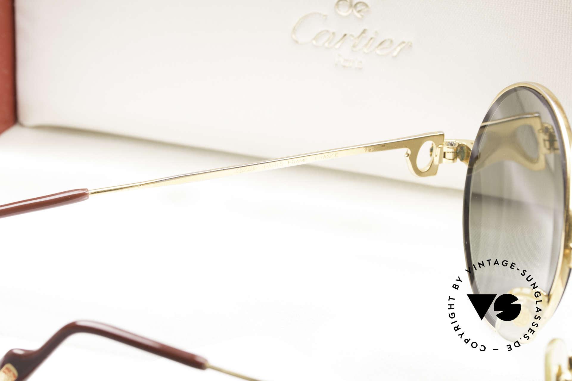 Cartier Round Customized Kundenindividuelle Fertigung, Größe: small, Passend für Herren und Damen