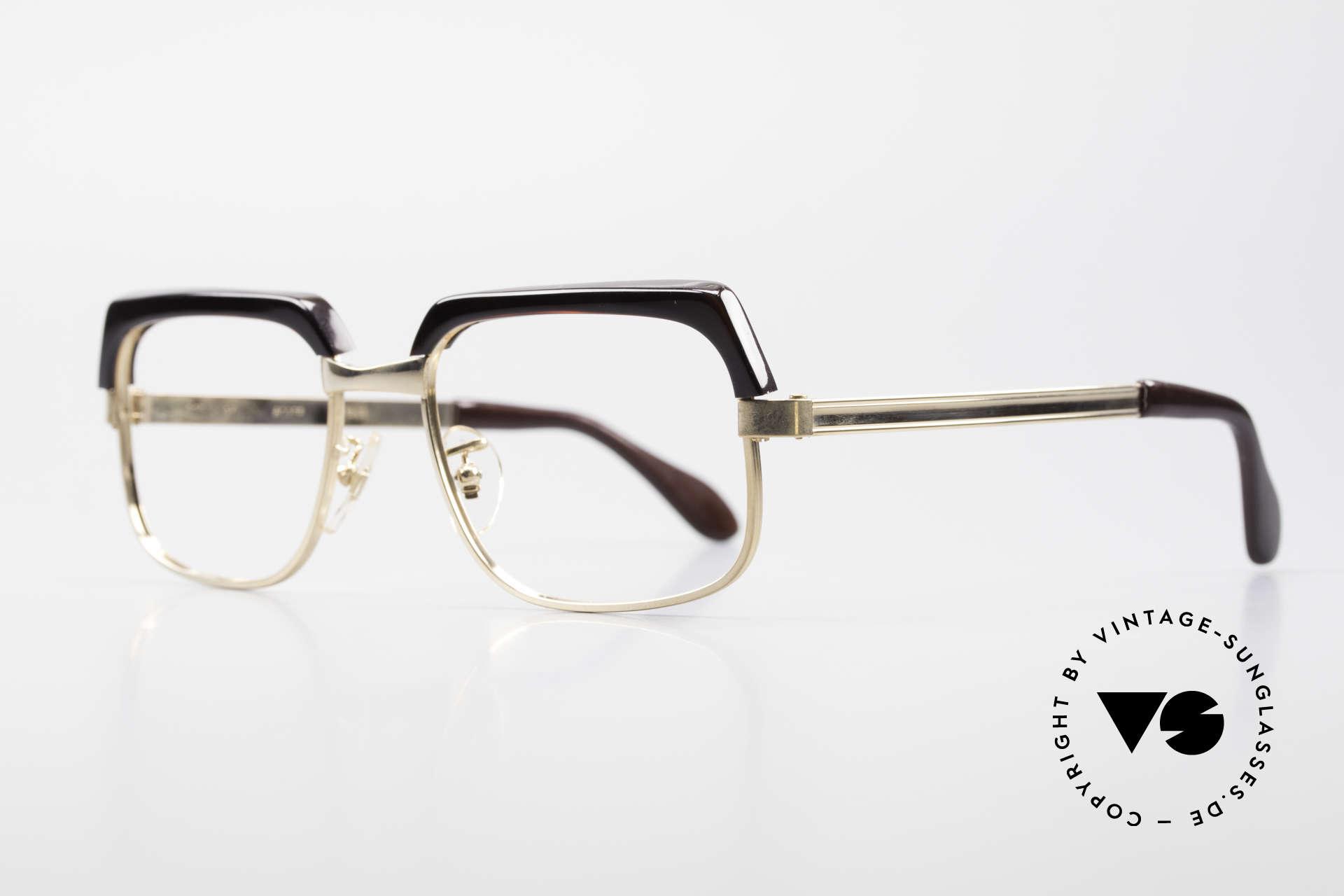 Selecta - Dalai Lama Gold Filled Kombibrille 70er, Gold-Filled Rahmen im Mischverhältnis 1/25 12kt, karat, Passend für Herren