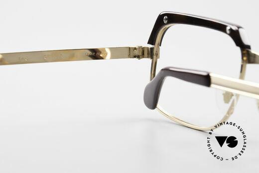 Selecta - Dalai Lama Gold Filled Kombibrille 70er, Fassung gemacht für optische Gläser oder Sonnengläser, Passend für Herren