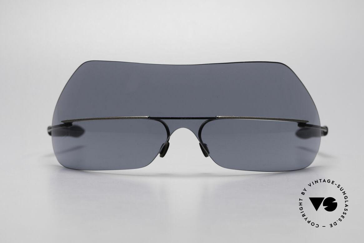 Theo Belgium Satisfashion 138 Sonnenbrille mit Augenbrauen, der Name sagt eigentlich alles ;-) ... SATISFASHION!, Passend für Damen