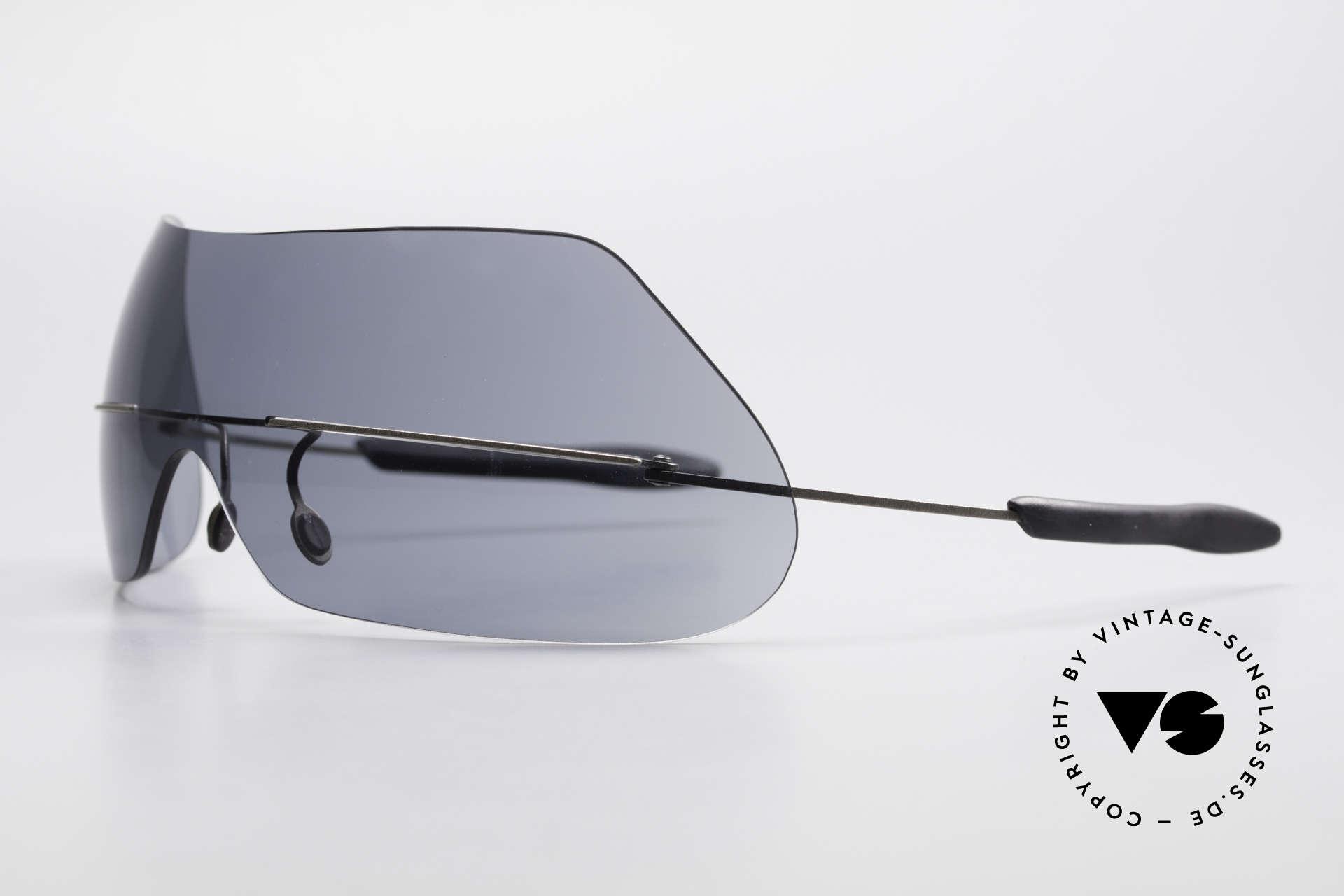 Theo Belgium Satisfashion 138 Sonnenbrille mit Augenbrauen, Sonnenbrille mit eigenen Brauen; einfach entzückend, Passend für Damen