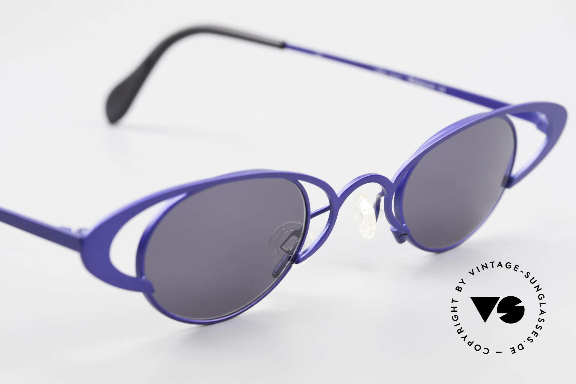 Theo Belgium Venus Zauberhafte Damenbrille 90er, ungetragenes Theo-Einzelstück für die, die sich trauen!, Passend für Damen
