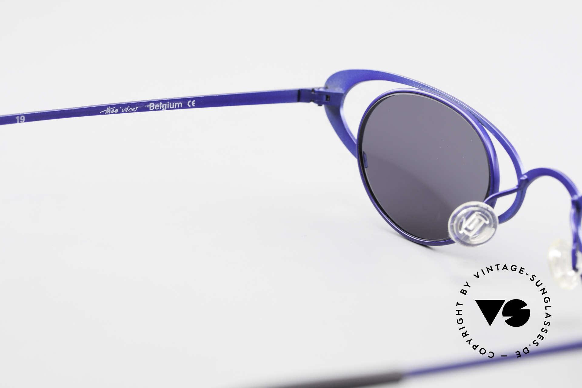 Theo Belgium Venus Zauberhafte Damenbrille 90er, sozusagen: VINTAGE Sonnenbrille mit Symbol-Charakter, Passend für Damen
