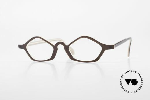 Theo Belgium Polygone Vieleck Brille Aus Kunststoff Details