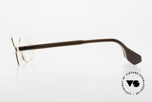 Theo Belgium Polygone Vieleck Brille Aus Kunststoff