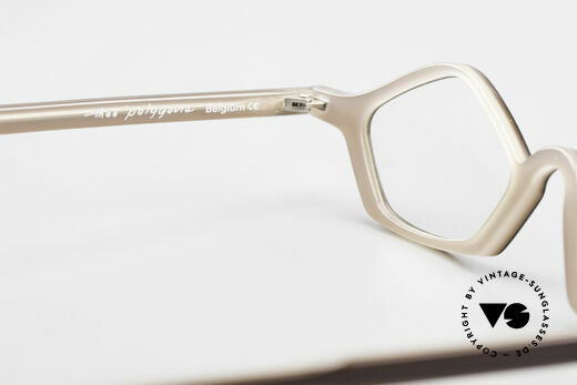 Theo Belgium Polygone Vieleck Brille Aus Kunststoff, Größe: small, Passend für Herren und Damen