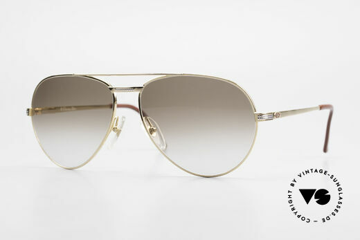 Christian Dior 2780 Herren Pilotenbrille Vergoldet Details