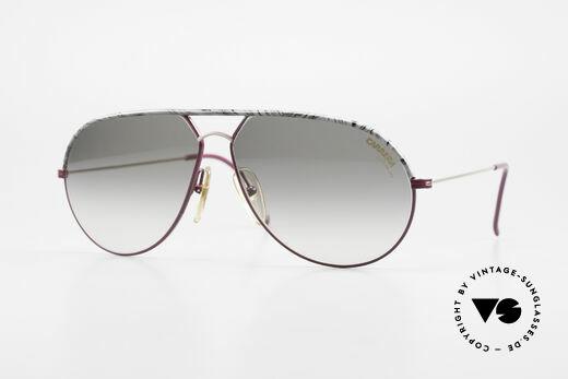 Carrera 5428 Rare Alte Sonnenbrille 80er Details