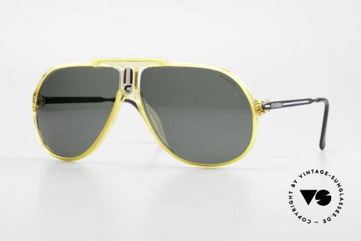 Carrera 5590 Optyl Sport Sonnenbrille 80er Details