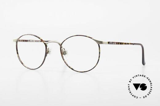 Giorgio Armani 163 Kleine Panto Brillenfassung Details