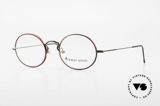 Giorgio Armani 247 Ovale Vintage Brille No Retro Details