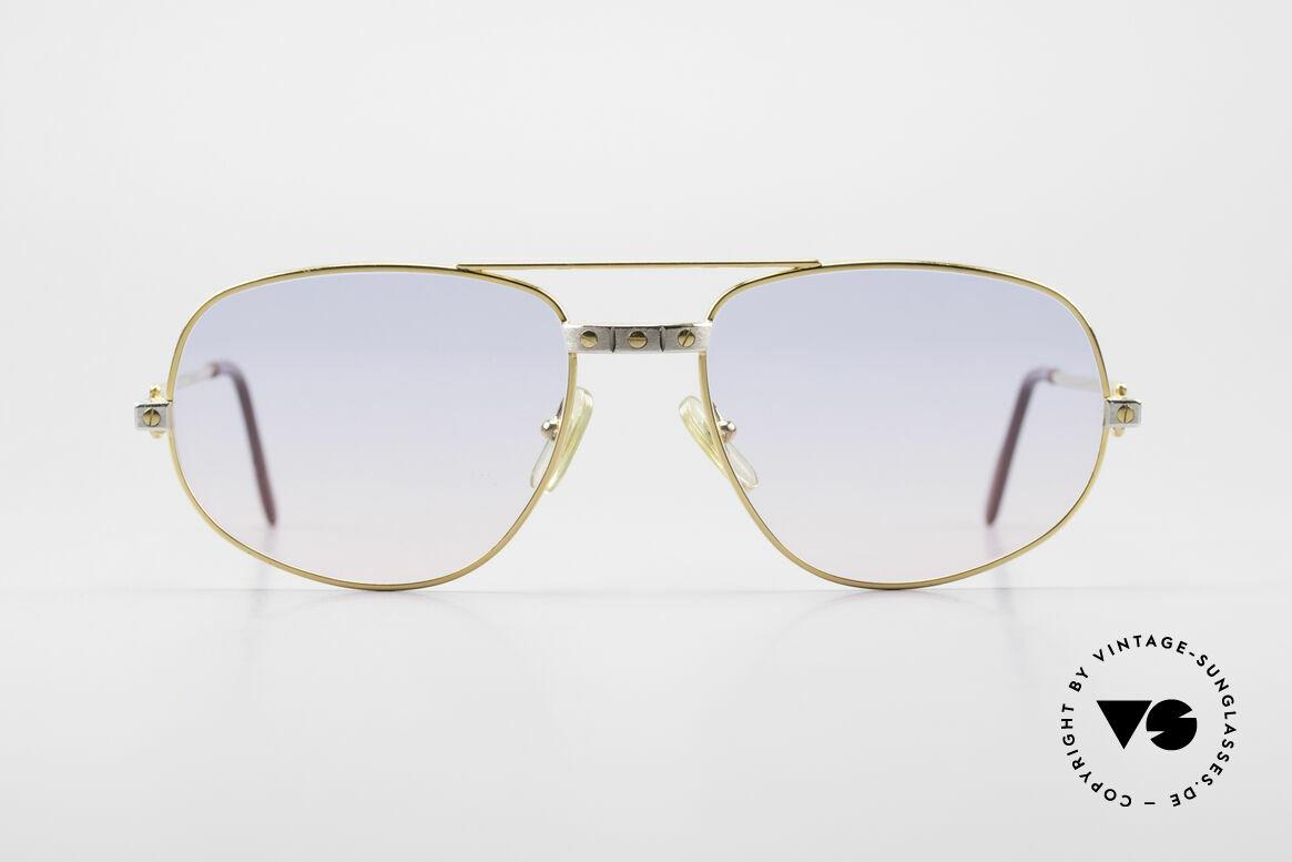 Cartier Romance Santos - M Luxus Vintage Sonnenbrille