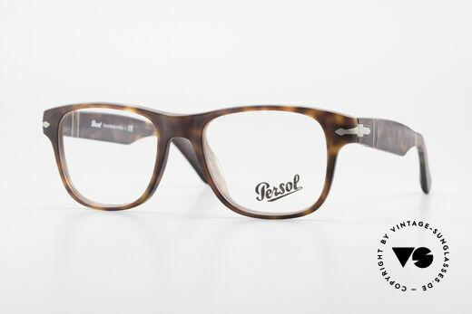 Persol 3051 Zeitlose Designer-Fassung Details