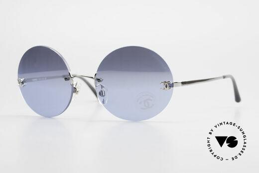 Chanel 4056 Runde Luxus Brille Randlos Details
