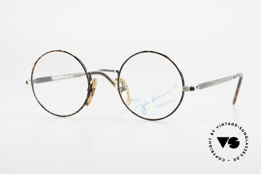 John Lennon - Revolution Kleine Runde Vintage Brille Details