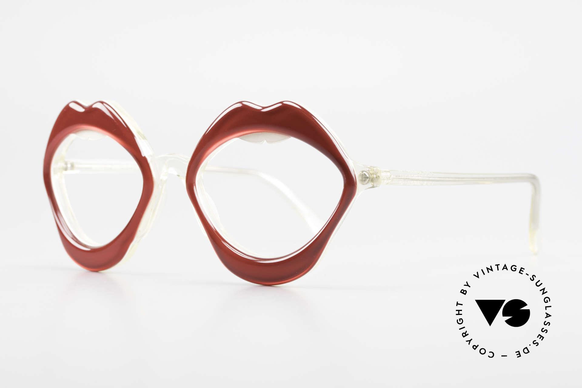 Anglo American Optical LIPS AAO Lippenbrille 60er Original, kostbare Rarität aus den 60ern in exzellentem Zustand, Passend für Damen