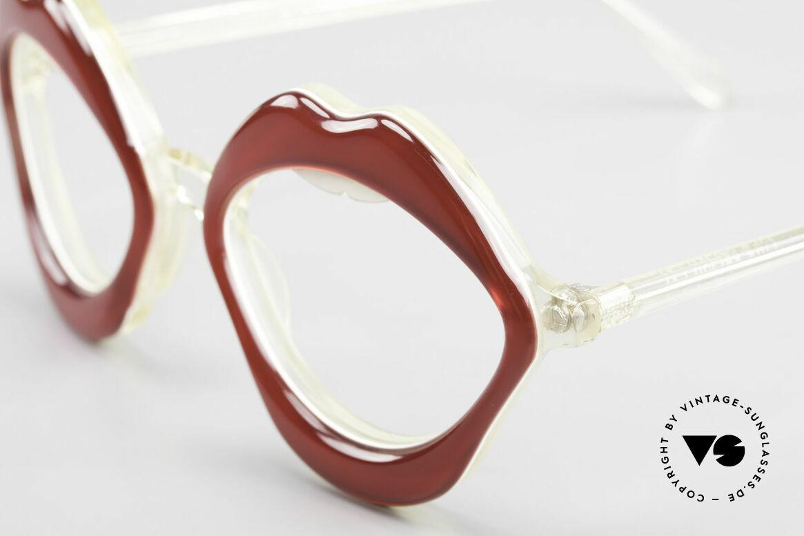 Anglo American Optical LIPS AAO Lippenbrille 60er Original, eigens gemacht für die 'Haute Couture' Shows in Paris, Passend für Damen