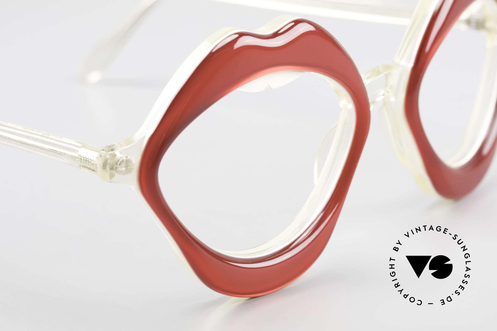 Anglo American Optical LIPS AAO Lippenbrille 60er Original, ein absolutes Designer-Unikat; gehört eher ins Museum, Passend für Damen