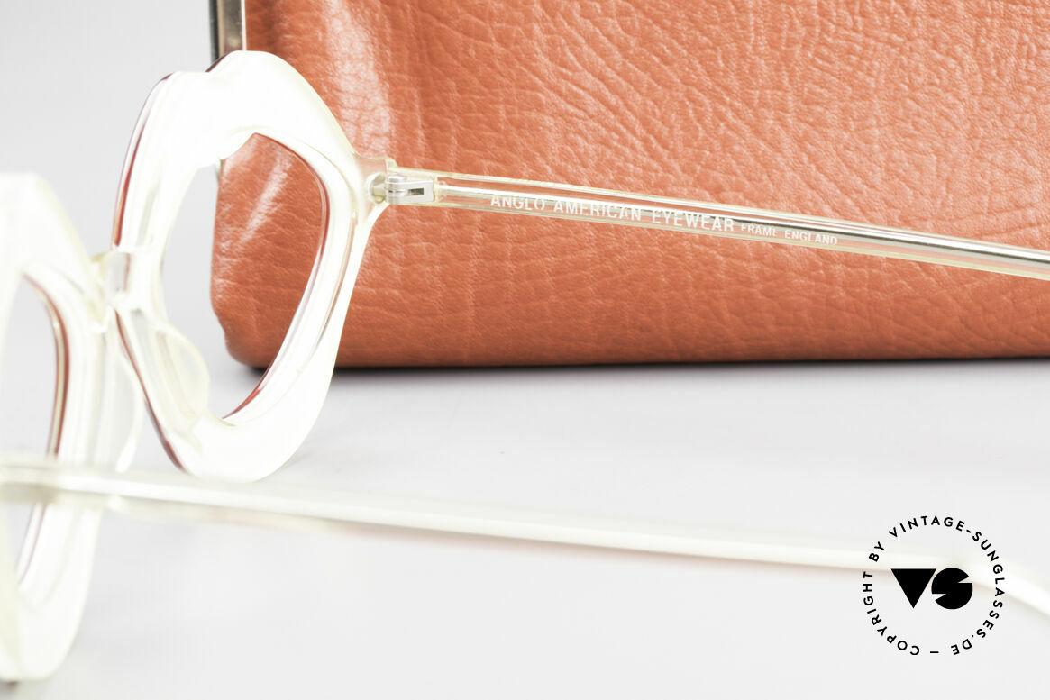 Anglo American Optical LIPS AAO Lippenbrille 60er Original, Größe: medium, Passend für Damen