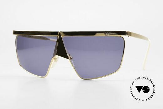 Casanova FC10 Nasenbrille 24kt Sonnenbrille Details