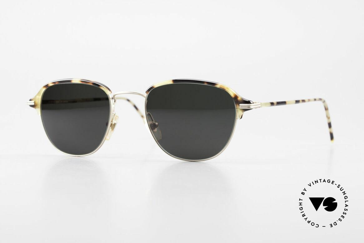Cutler And Gross 0373 Designer Panto Sonnenbrille, Cutler & Gross London Designerbrille der späten 90er, Passend für Herren und Damen