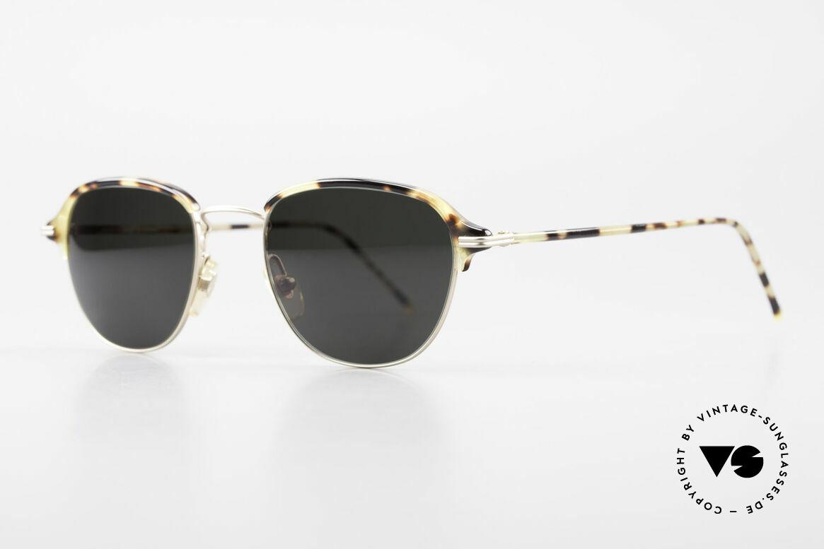 Cutler And Gross 0373 Designer Panto Sonnenbrille, stilvoll & unverwechselbar; auch ohne pompöse Logos, Passend für Herren und Damen