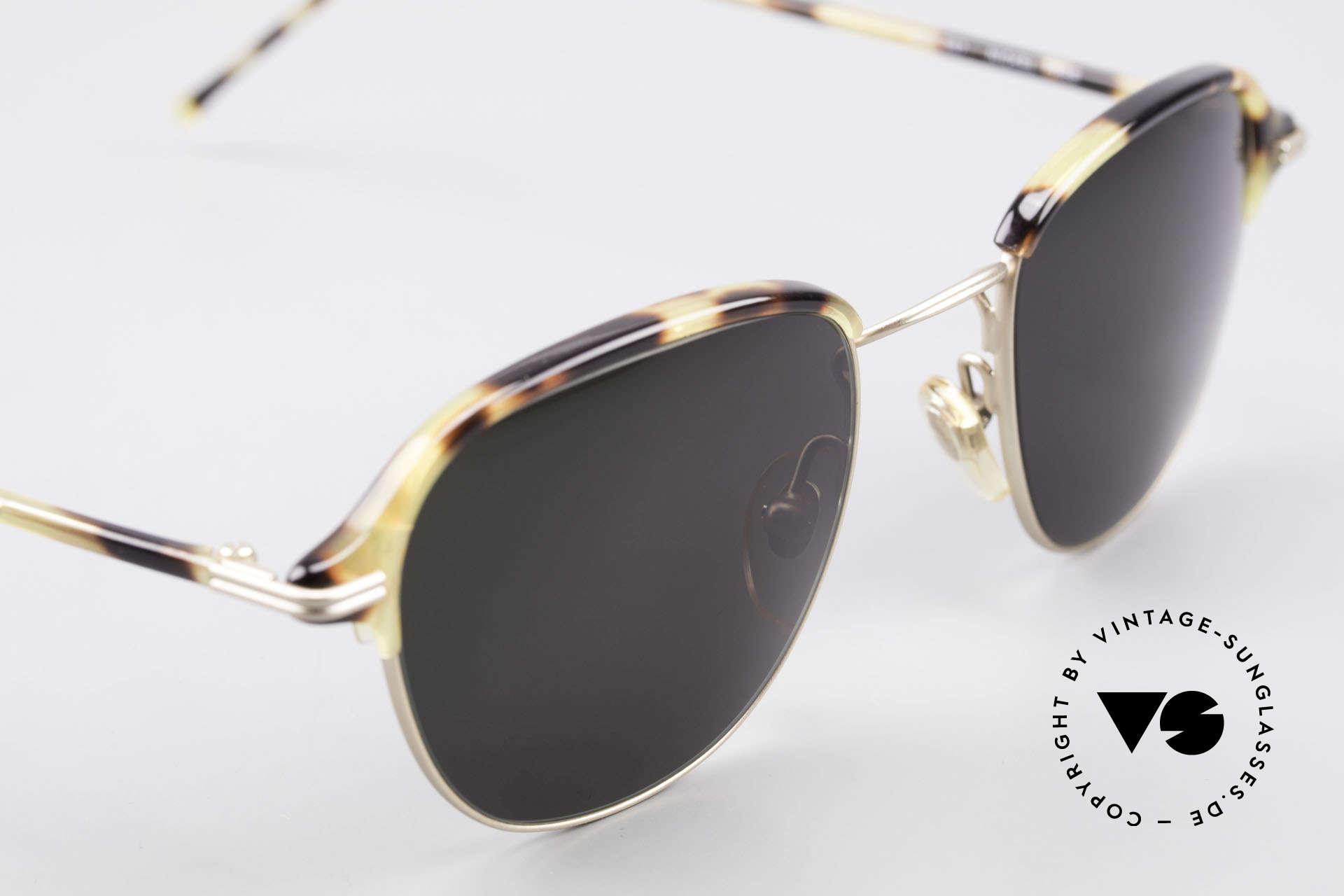Cutler And Gross 0373 Designer Panto Sonnenbrille, ungetragen; Modell ist auch beliebig optisch verglasbar, Passend für Herren und Damen