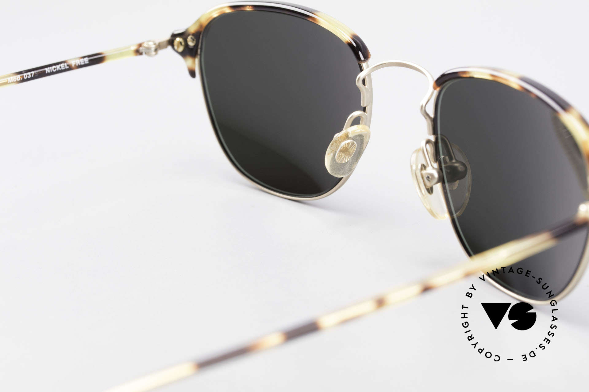 Cutler And Gross 0373 Designer Panto Sonnenbrille, Größe: medium, Passend für Herren und Damen