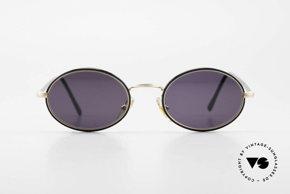 Cutler And Gross 0350 Ovale Vintage Sonnenbrille, klassisch, zeitlose Understatement Luxus-Sonnenbrille, Passend für Herren und Damen