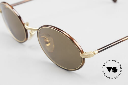 Cutler And Gross 0350 Vintage Sonnenbrille Oval 90er