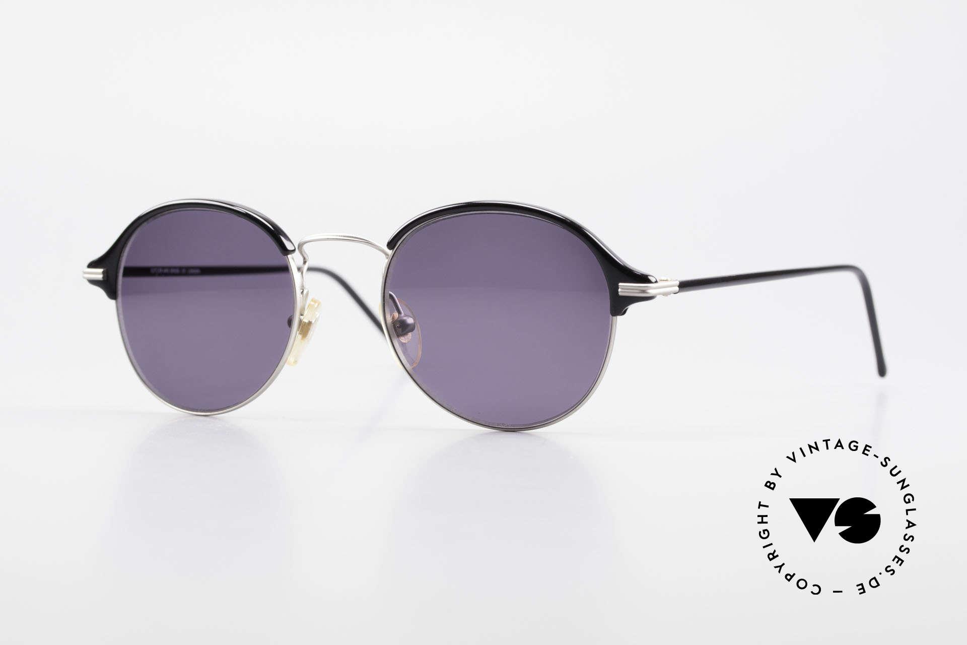 Cutler And Gross 0374 Pantobrille Mit Windsorringen, Cutler & Gross London Designerbrille der späten 90er, Passend für Herren und Damen