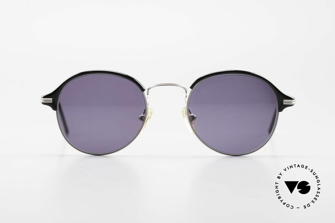 Cutler And Gross 0374 Pantobrille Mit Windsorringen, klassisch, zeitlose Understatement Luxus-Sonnenbrille, Passend für Herren und Damen