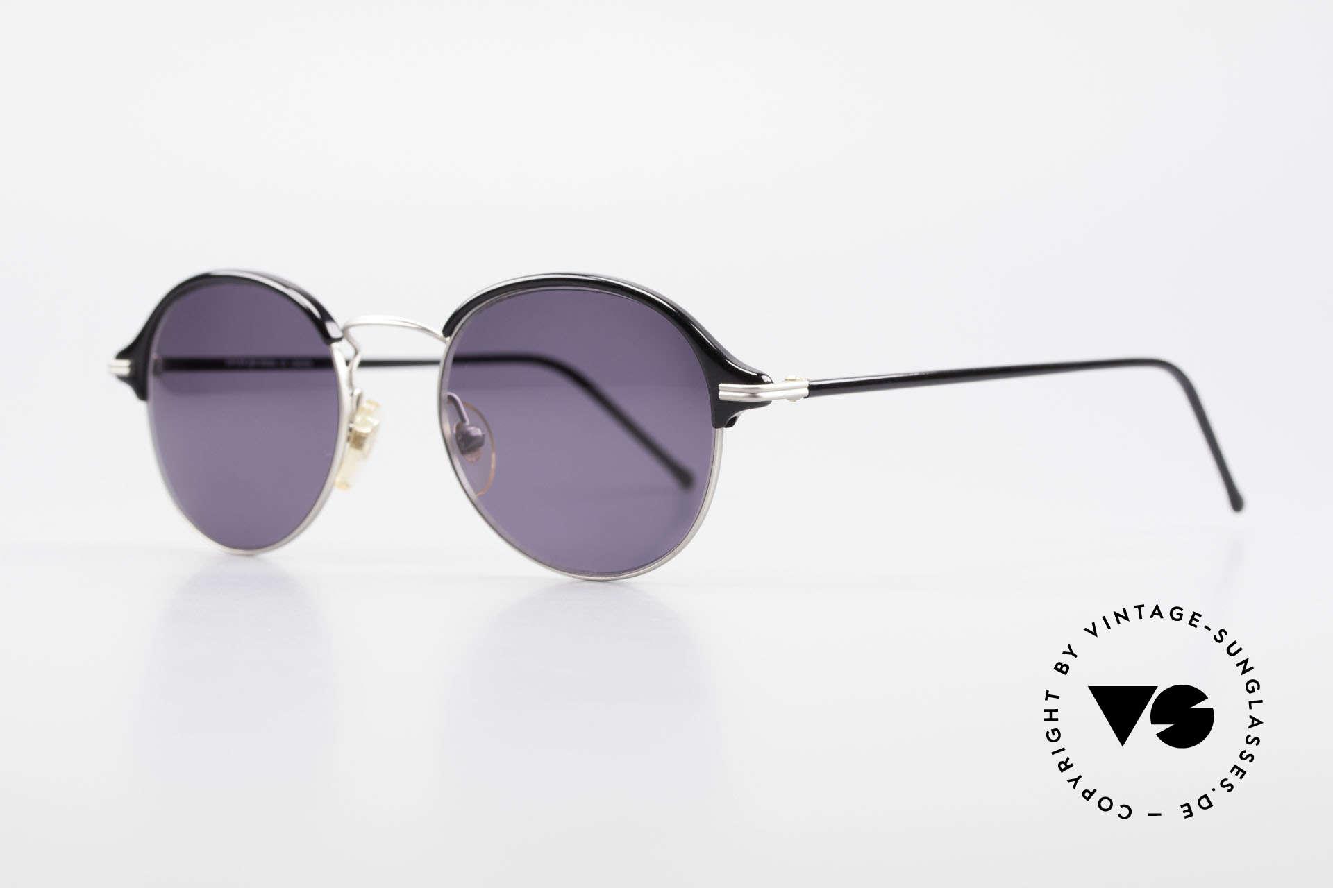 Cutler And Gross 0374 Pantobrille Mit Windsorringen, stilvoll & unverwechselbar; auch ohne pompöse Logos, Passend für Herren und Damen