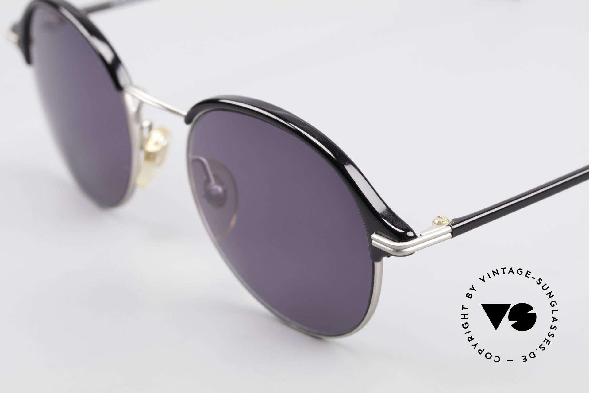 Cutler And Gross 0374 Pantobrille Mit Windsorringen, schlicht, aber Materialien & Verarbeitung auf top-Niveau, Passend für Herren und Damen