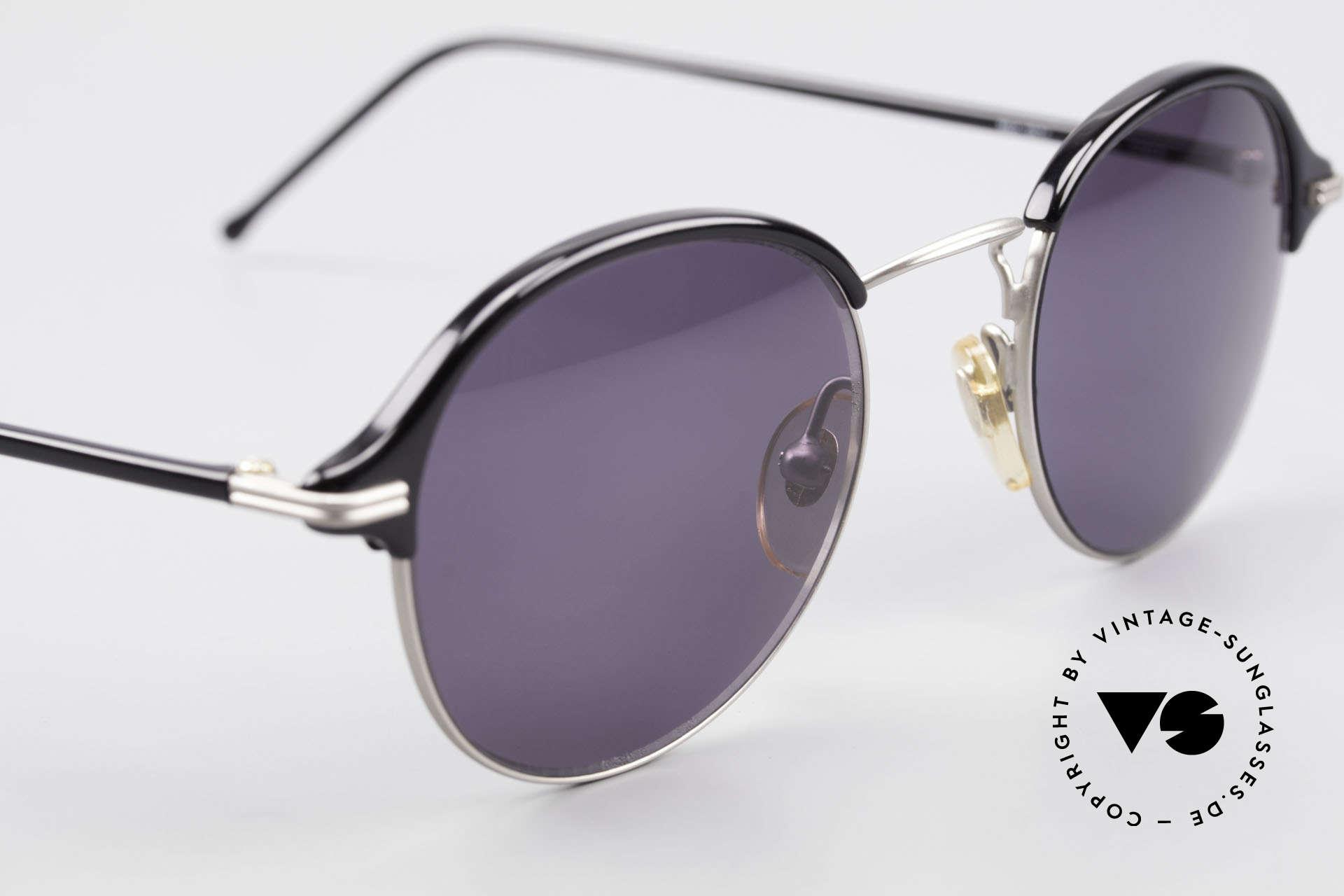 Cutler And Gross 0374 Pantobrille Mit Windsorringen, ungetragen; Modell ist auch beliebig optisch verglasbar, Passend für Herren und Damen