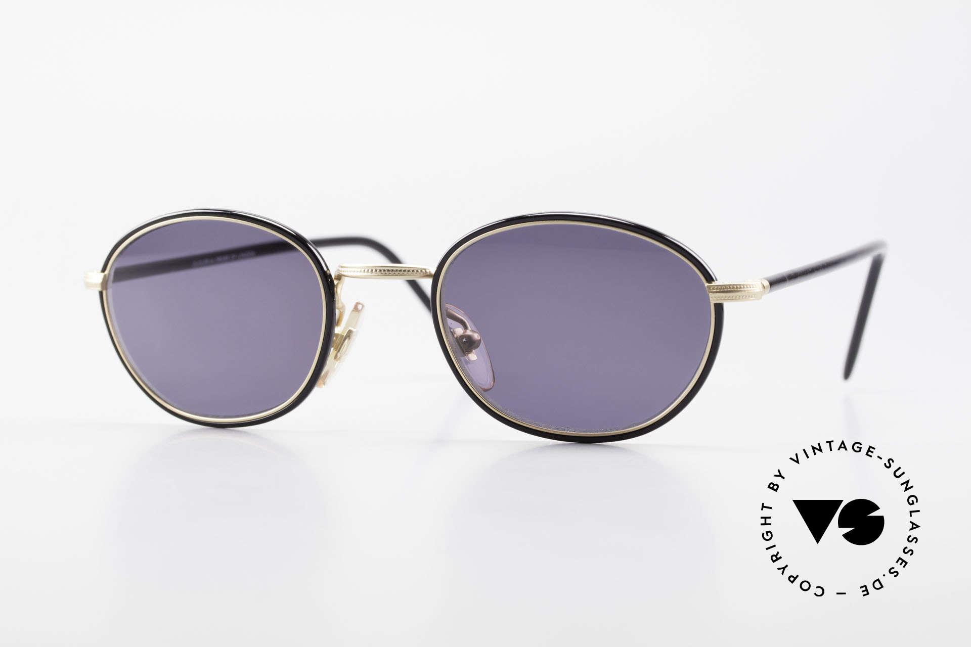 Cutler And Gross 0394 Classic Vintage Sonnenbrille, Cutler & Gross London Designerbrille der späten 90er, Passend für Herren und Damen