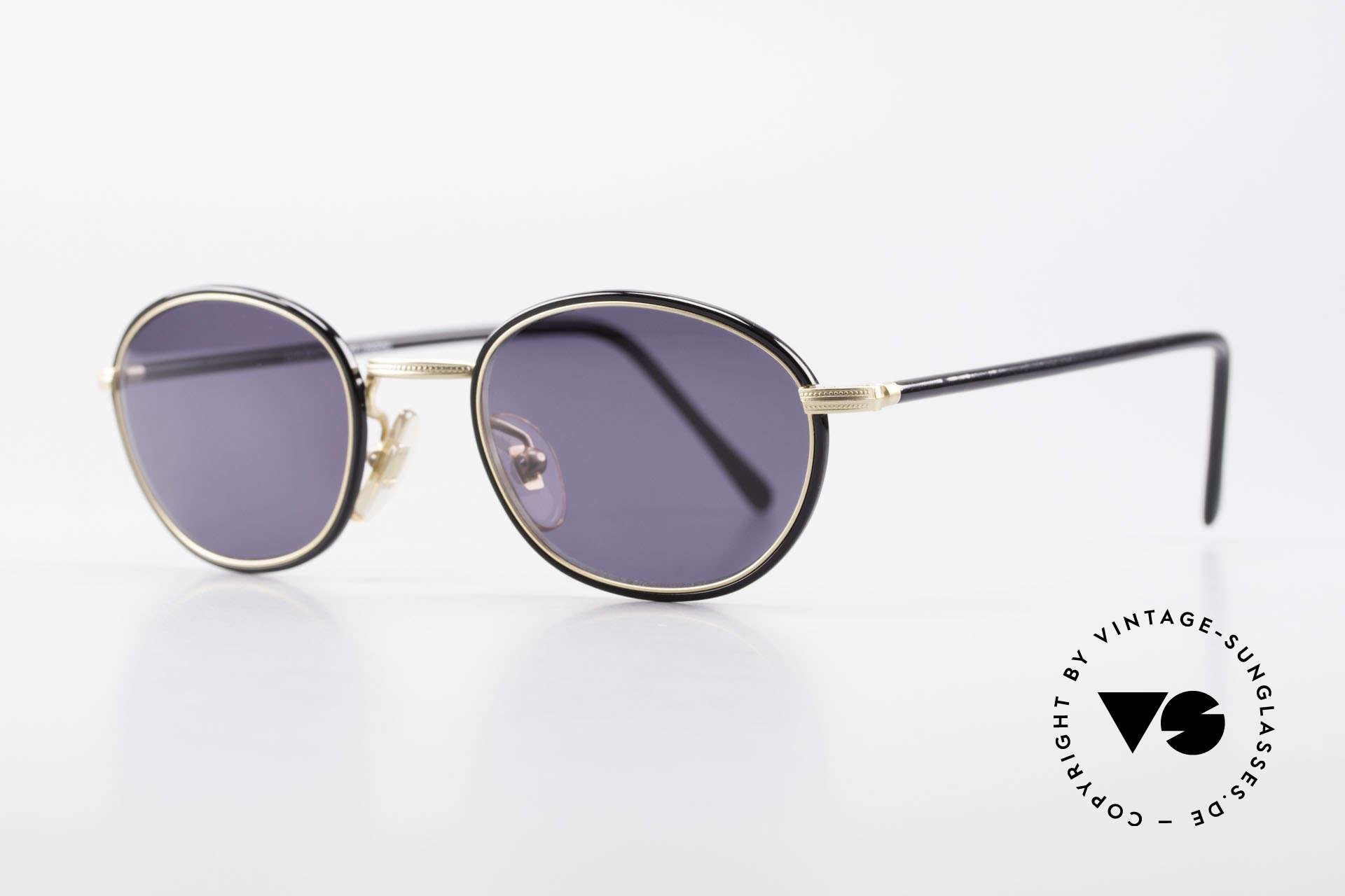 Cutler And Gross 0394 Classic Vintage Sonnenbrille, stilvoll & unverwechselbar; auch ohne pompöse Logos, Passend für Herren und Damen