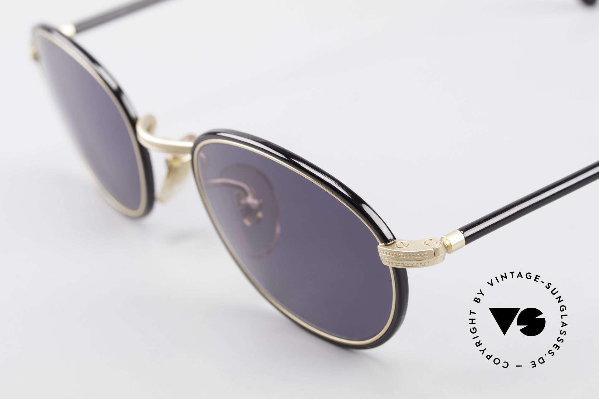 Cutler And Gross 0394 Classic Vintage Sonnenbrille, sehr elegante Kombination von Materialien und Farben, Passend für Herren und Damen