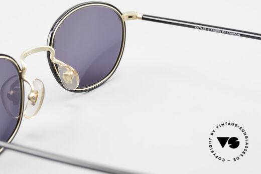 Cutler And Gross 0394 Classic Vintage Sonnenbrille, KEINE Retrobrille, sondern ein 20 Jahre altes Original!, Passend für Herren und Damen