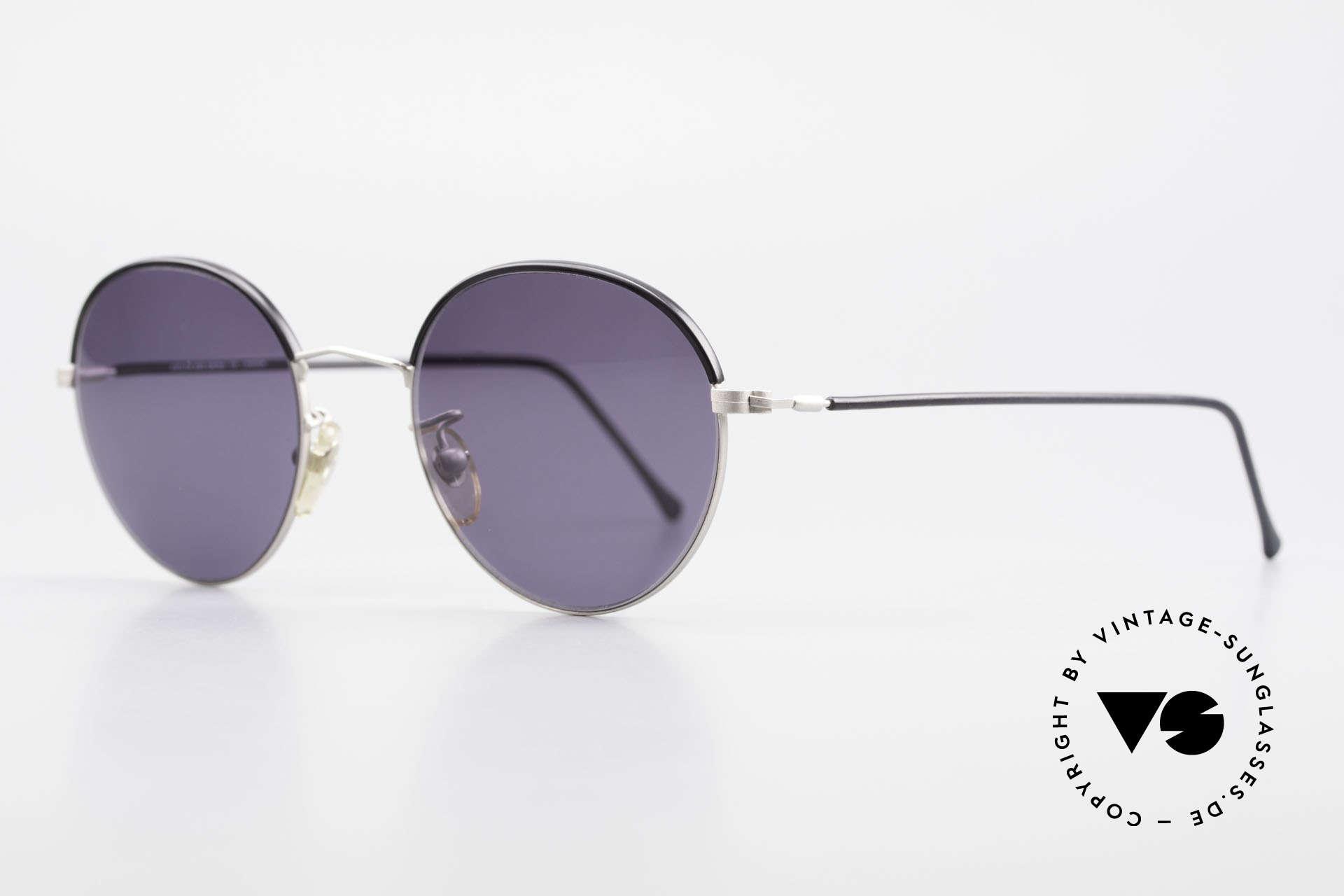 Cutler And Gross 0391 Runde Designer Pantobrille, stilvoll & unverwechselbar; auch ohne pompöse Logos, Passend für Herren und Damen