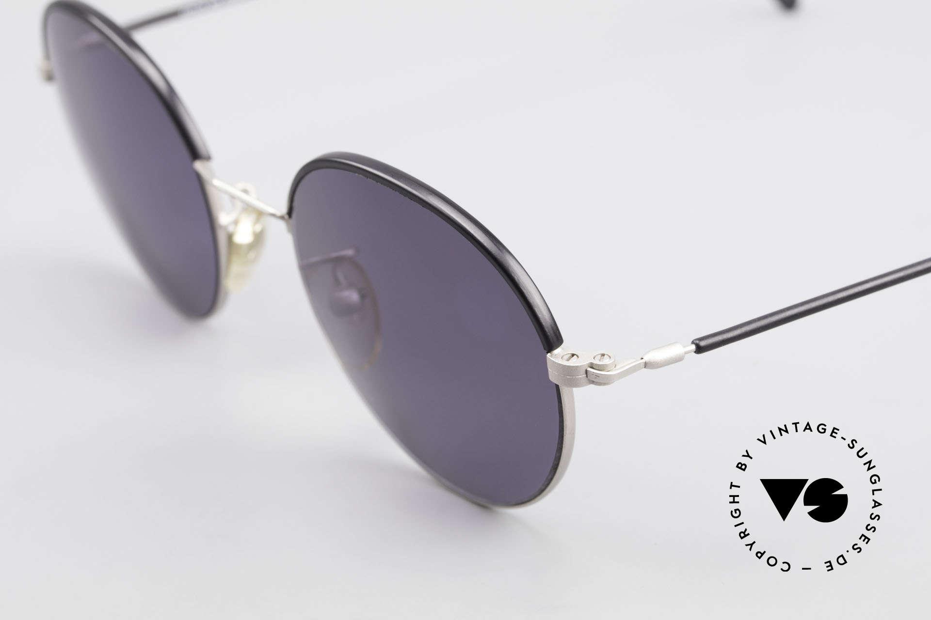 Cutler And Gross 0391 Runde Designer Pantobrille, schlicht, aber Materialien & Verarbeitung auf top-Niveau, Passend für Herren und Damen