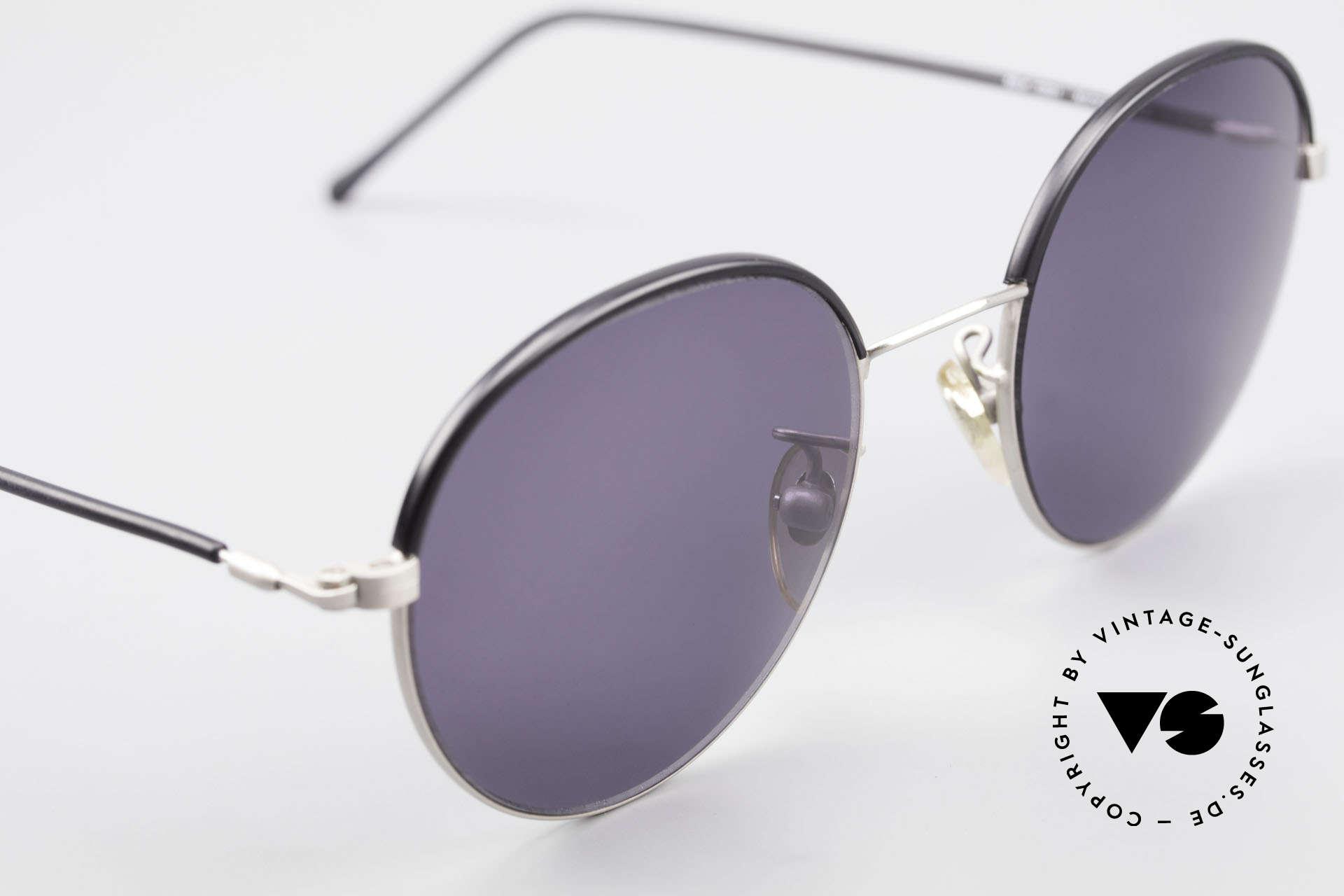 Cutler And Gross 0391 Runde Designer Pantobrille, ungetragen; Modell ist auch beliebig optisch verglasbar, Passend für Herren und Damen