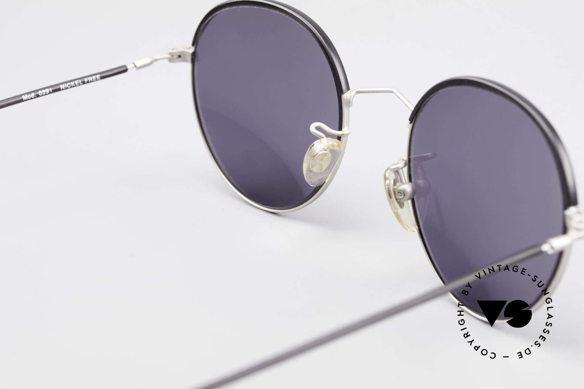 Cutler And Gross 0391 Runde Designer Pantobrille, KEINE Retrobrille, sondern ein 20 Jahre altes Original!, Passend für Herren und Damen