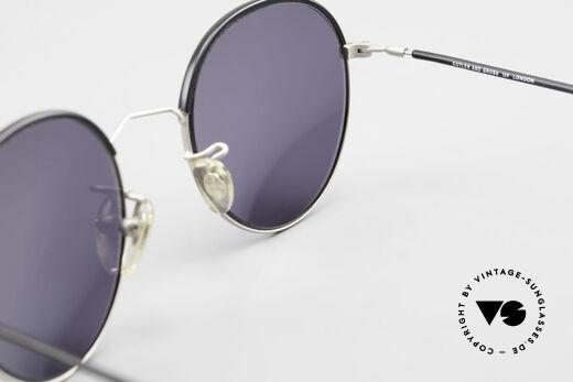 Cutler And Gross 0391 Runde Designer Pantobrille, Größe: medium, Passend für Herren und Damen