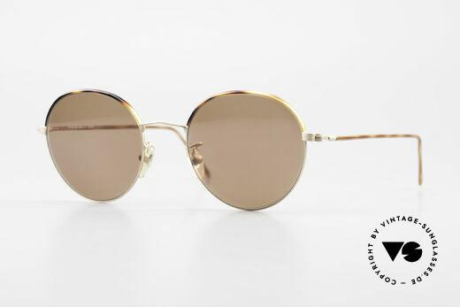 Cutler And Gross 0391 Runde Brille Windsorringe Details